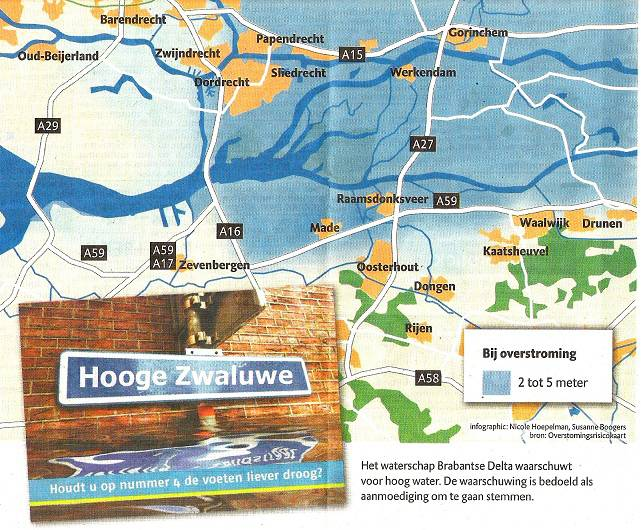 kaart Dongemond